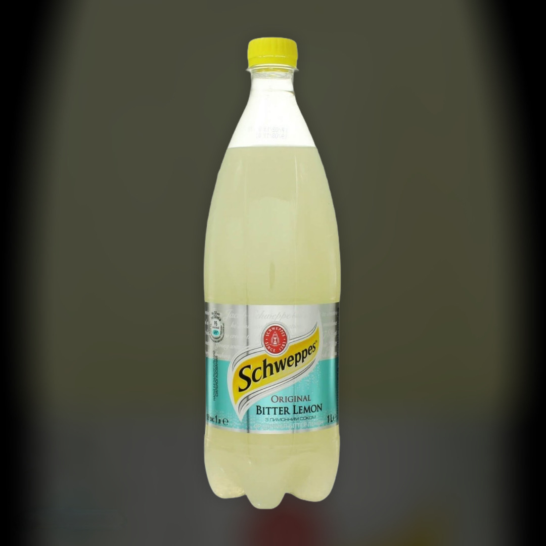 Soft drink Schweppes Bitter Lemon 1l