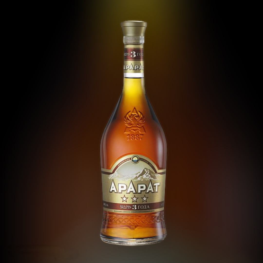 Delivery brandies Ararat 3 stars around the clock in Kiev