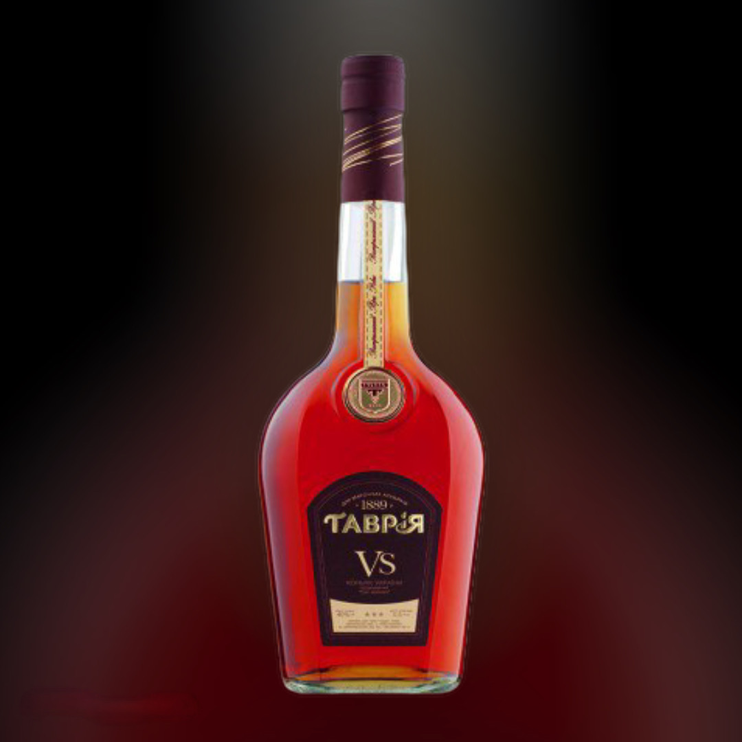 Delivery brandy Tavria V.S. clock in Kiev