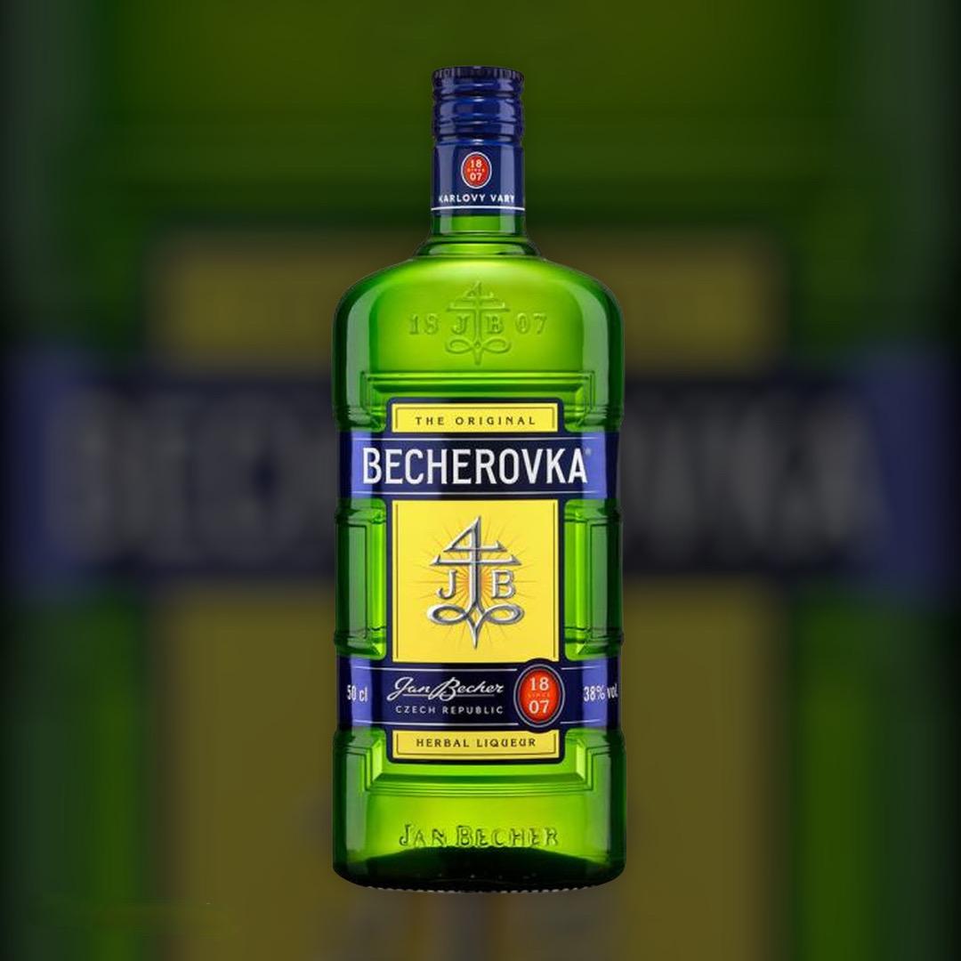 Liqueur Becherovka liqueur with herbs 38% 1 l