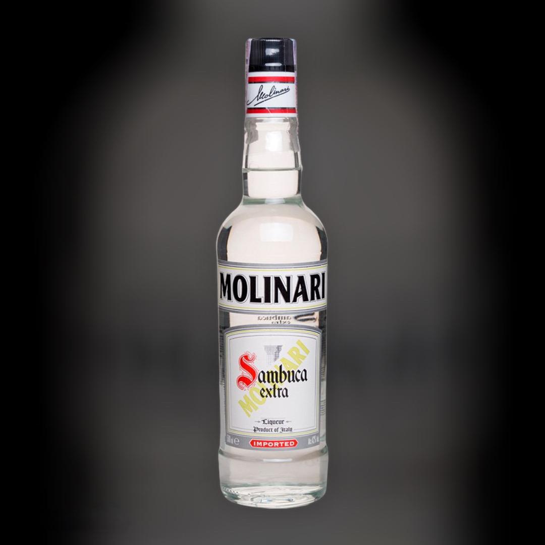 Liquor Sambuca Molinari Extra 40% 1 l