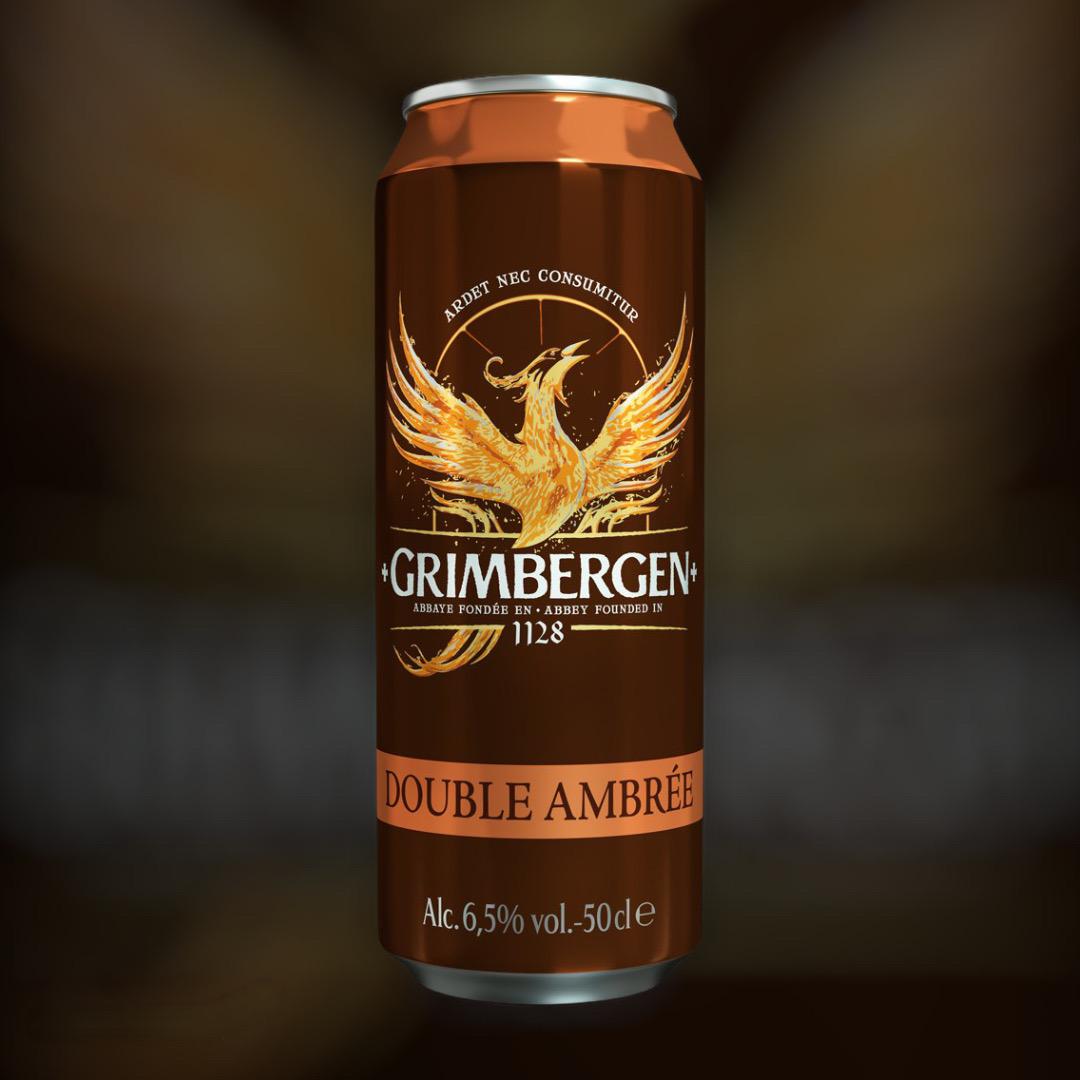 Beer Grimbergen Double Ambree semi-dark unfiltered 6.5% 0,5l
