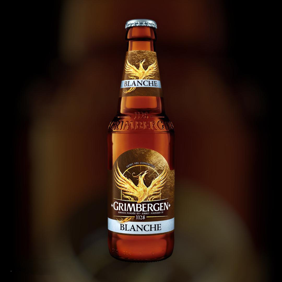 Beer Grimbergen Blanche bright unfiltered 6% 0,33l