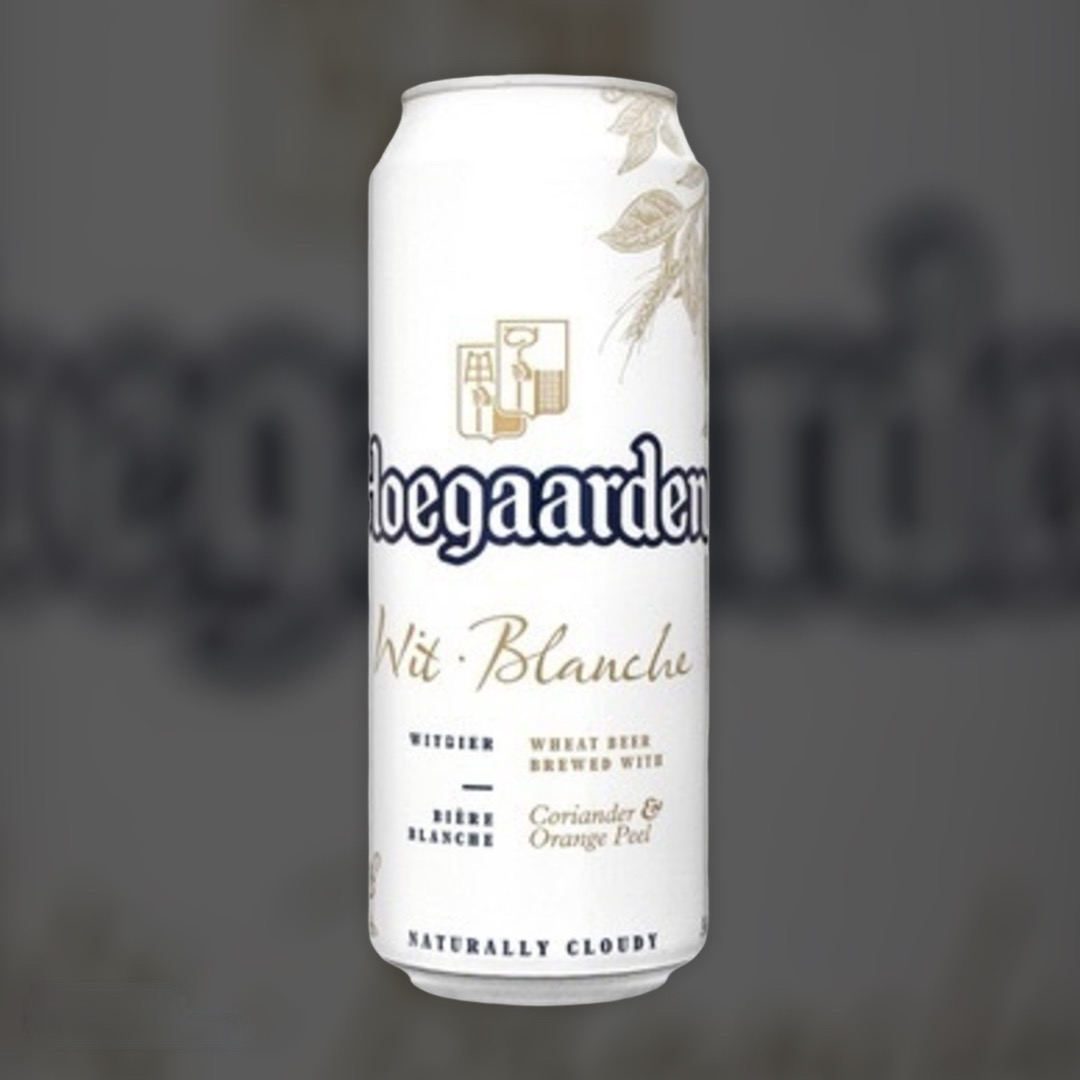 Hoegaarden White Beer light unfiltered 4.7% 0,5l