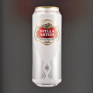 Beer Stella Artois light filtered 5% 0,5l