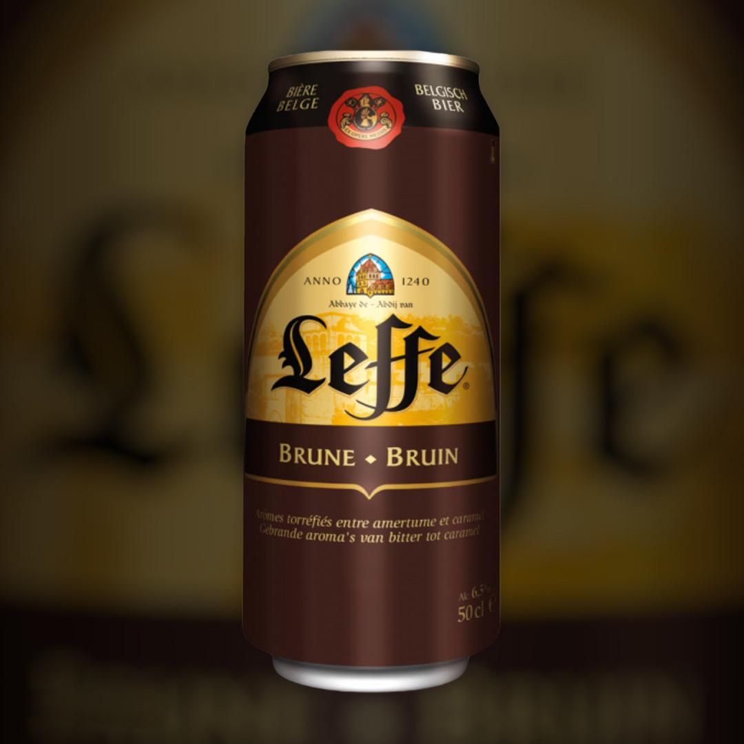 Beer Leffe Brune dark filtered 6.5% 0,5l