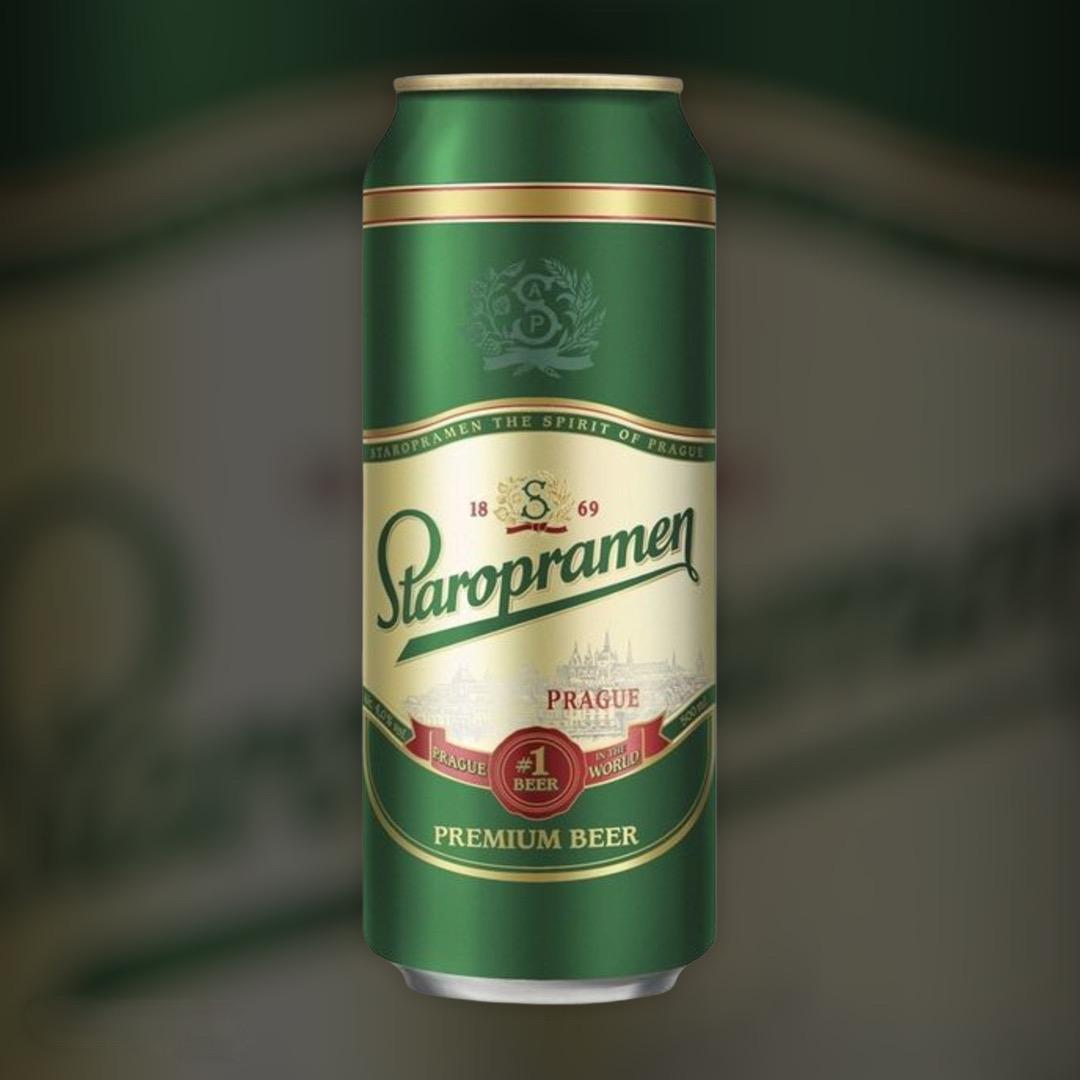 Staropramen Beer light filtered 5% 0,5l