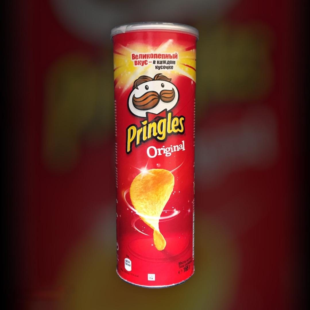 Pringles Original Potato Chips 165g