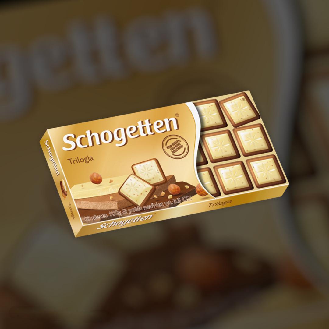 Chocolate Schogetten Trilogia 100g