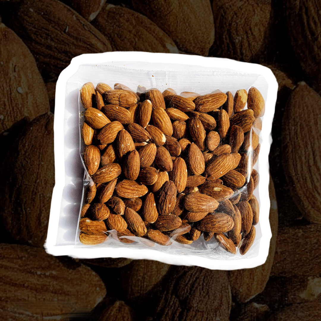 roasted almonds 200g