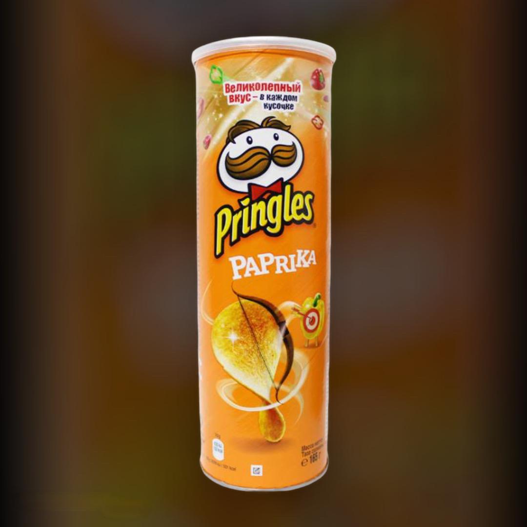 Chips Pringles Paprika 165g