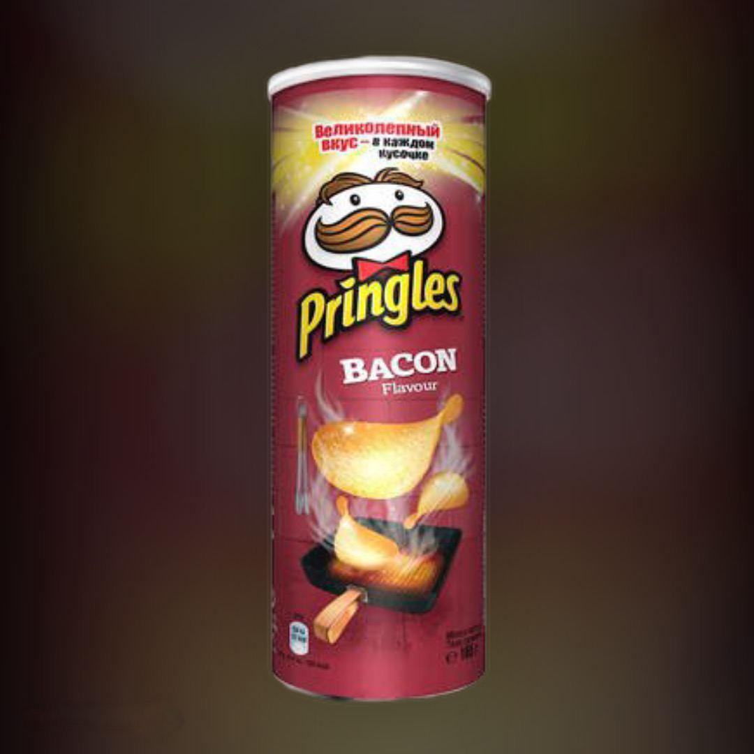Pringles potato chips Bacon 165g