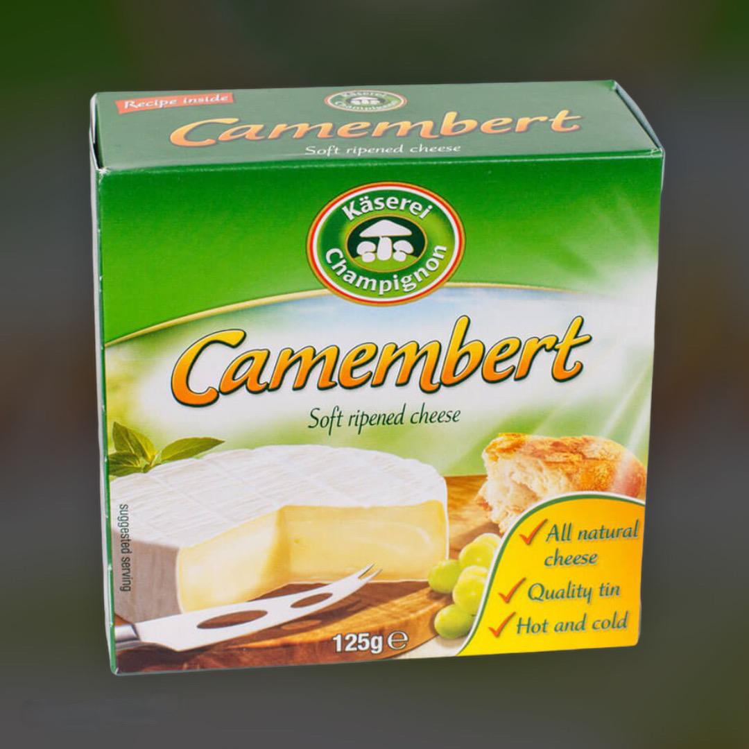 Cheese Kaserei Champignon Camembert Germany 125g