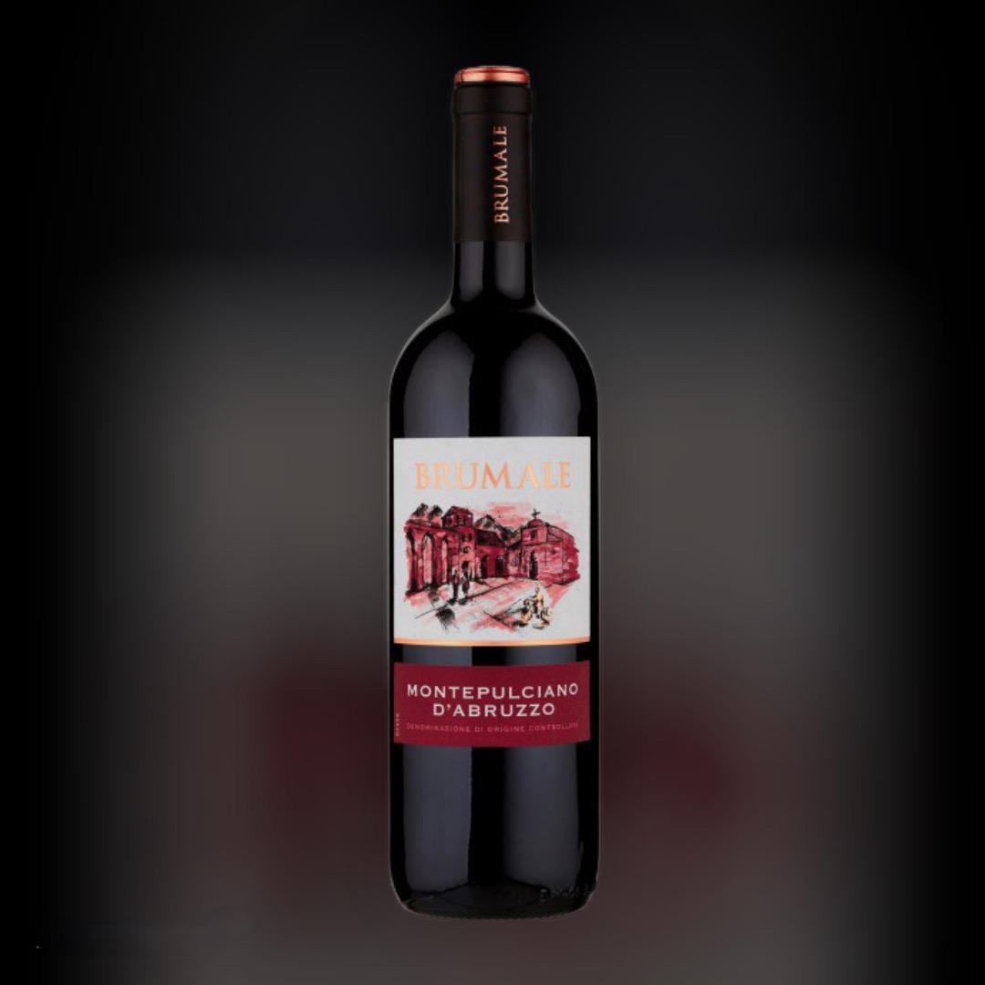 Wine Delivery Brumale Montepulciano d'Abruzzo night in Kiev