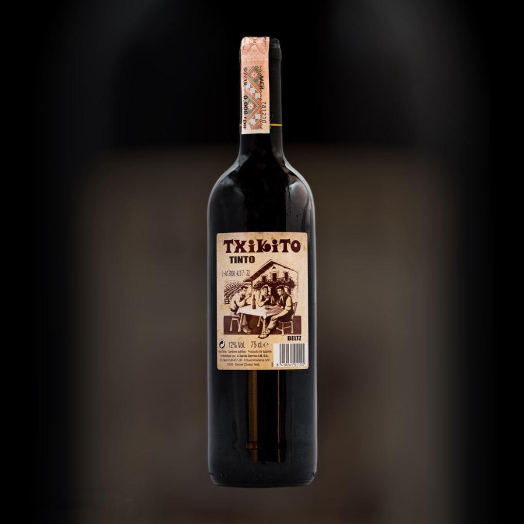Wine Txikito Tinto 12% dry red Spain 0,75l
