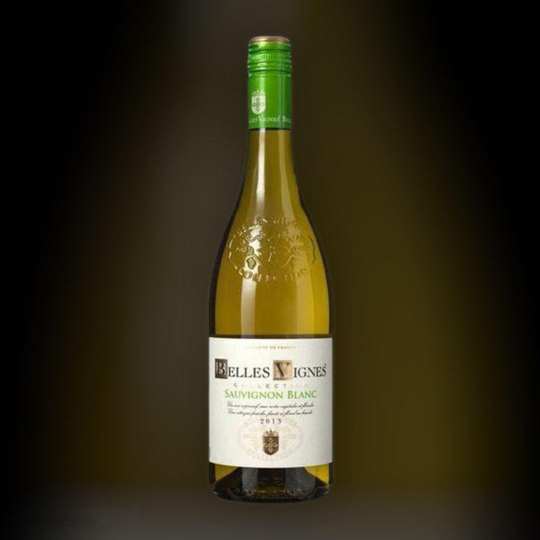 Wine Delivery Belles Vignes Colombard-Savignon Blanc night in Kiev