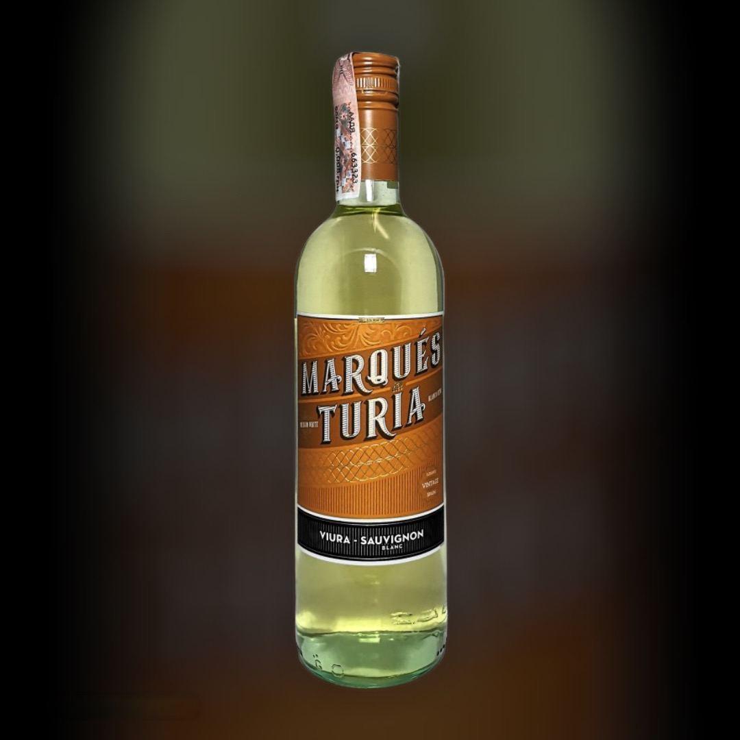Wine Delivery Marques del Turia Viura-Sauvignon clock in Kiev
