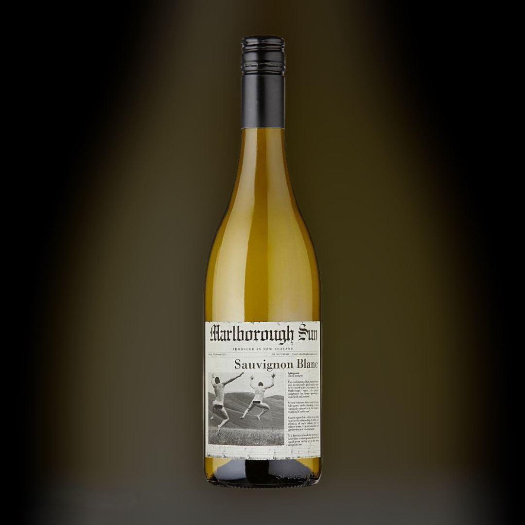 Wine Marlborough Sun Sauvignon Blanc 2019 white dry 13% of New Zealand 0,75
