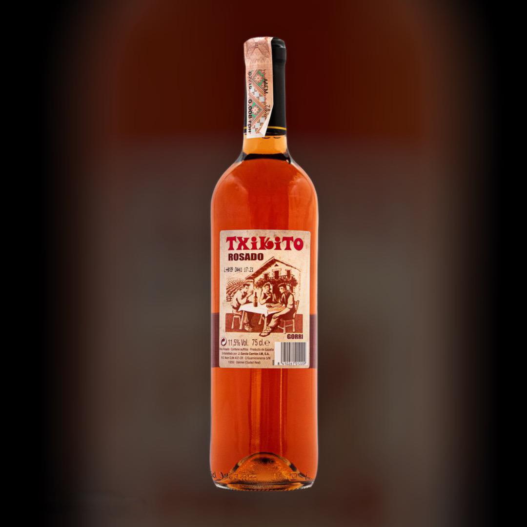 Wine Delivery Txikito Rose clock in Kiev