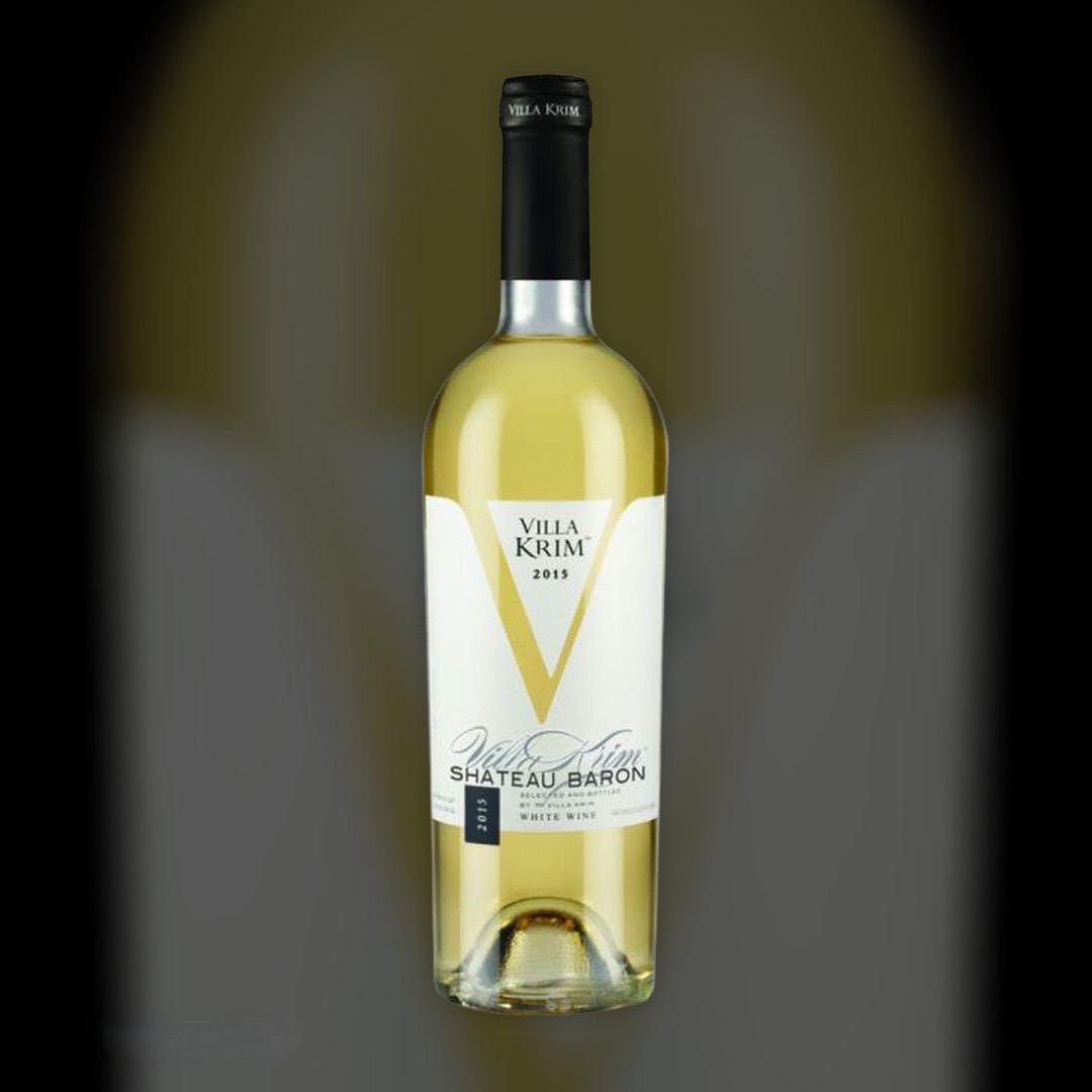Wine Delivery Villa Krim Shateau Baron clock in Kiev