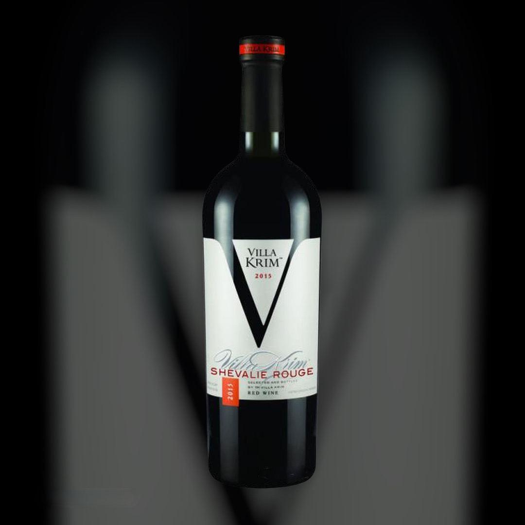 Wine Delivery Villa Krim Shevalie Rouge clock in Kiev