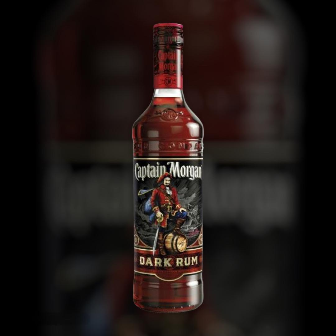 Rum Captain Morgan Dark Rum 40% 0.7 l