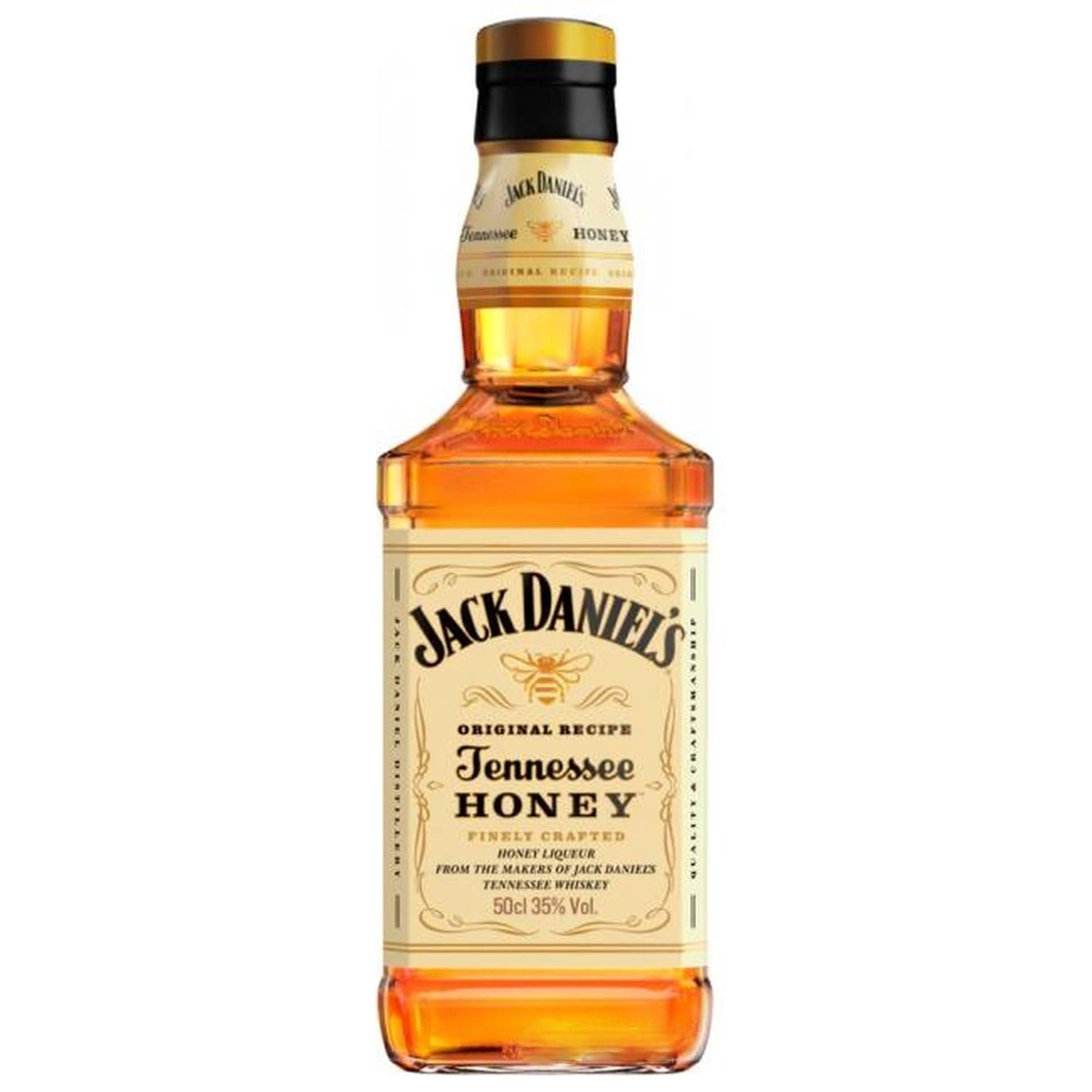 Whiskey Jack Daniels Honey order delivery at night in Kiev