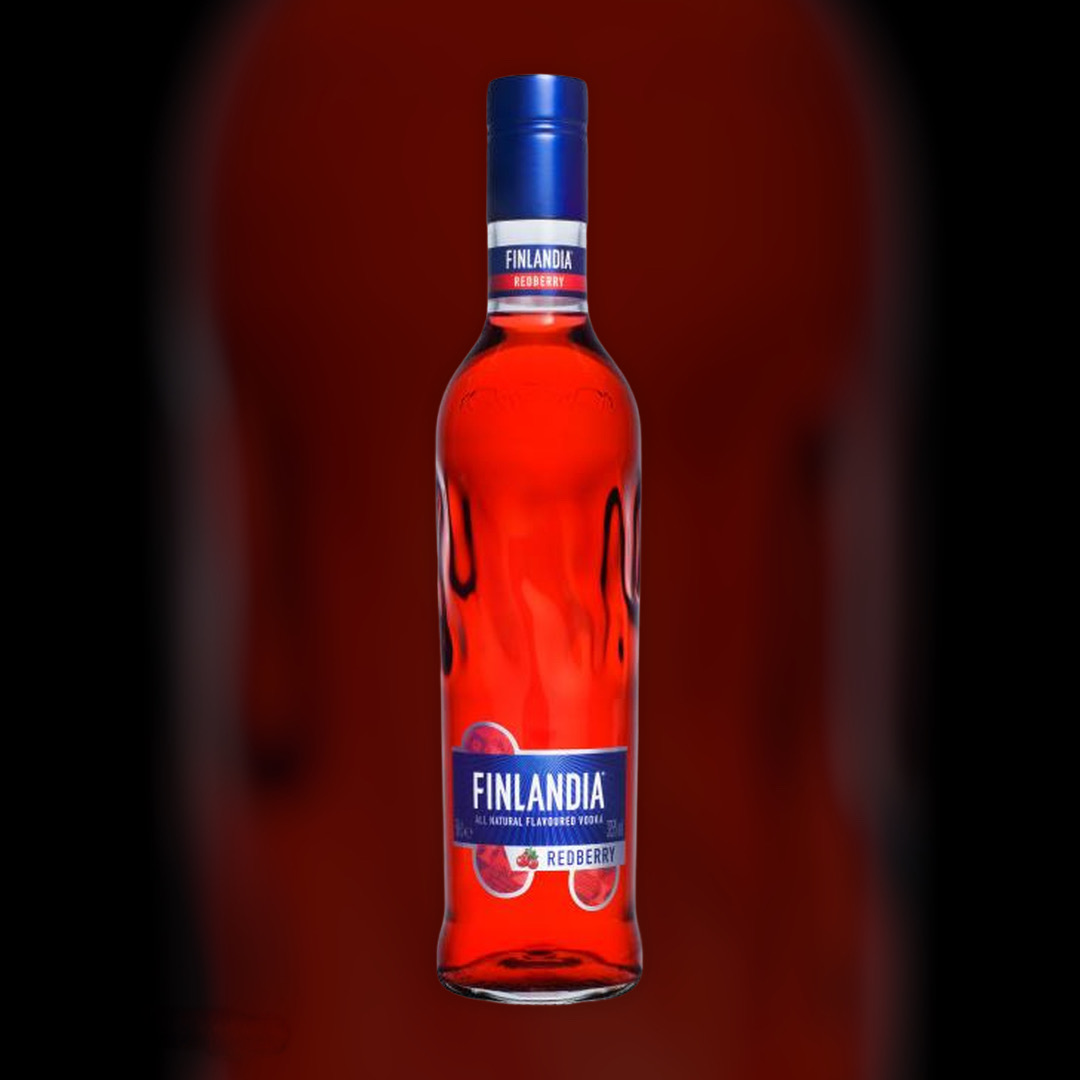 Delivery of vodka Finlandia Redberry clock in Kiev