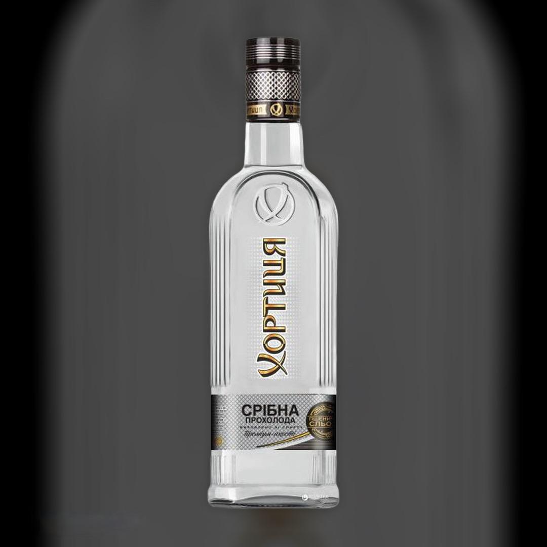Vodka Khortytsya 40 Coolness Silver% 0.5 l